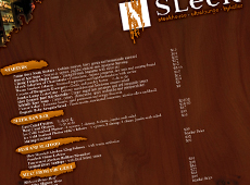 SLeeK Menu