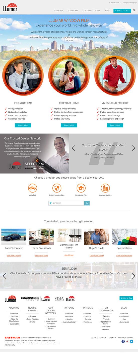 LLumar Website